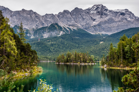 Picture no: 11758500 Sasseninsel vor Eibsee-Bucht-n Created by: Erhard Hess