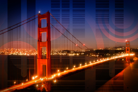 Picture no: 11758714 Golden Gate Bridge Geometric Created by: Melanie Viola