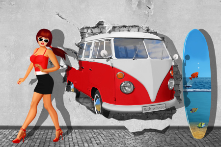 Picture no: 11762296 Back to the 60s  Created by: Mausopardia