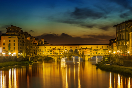 Picture no: 11766554 FLORENZ Ponte Vecchio Sunset Created by: Melanie Viola