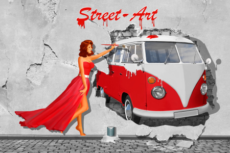 Picture no: 11767204 Street Art in Digital Art Created by: Mausopardia