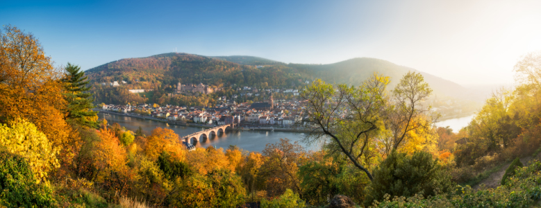Picture no: 11779566 Heidelberg Panorama im Herbst Created by: eyetronic