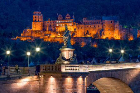 Picture no: 11789028 Heidelberger Schloss bei Nacht Created by: eyetronic