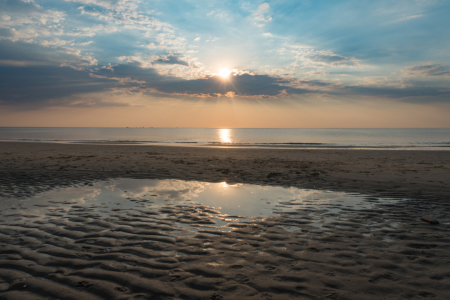 Picture no: 11798776 Katwijk Sonnenuntergang  Created by: MarioZwiers