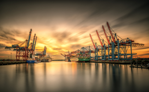 Picture no: 11801830 Waltershofer Hafen V Created by: PhotoArt-Hartmann