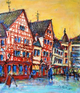 Picture no: 11805890 In der Altstadt in Mainz Created by: Ingrid Becker