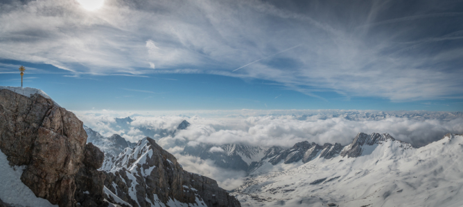 Picture no: 11808896 Zugspitze Panorama Created by: Stefan Mosert