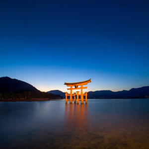 Picture no: 11814656 Großes Torii in Miyajima Japan Created by: eyetronic