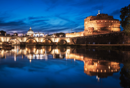 Picture no: 11827361 Rom - Castel Sant\'Angelo  Created by: Jean Claude Castor
