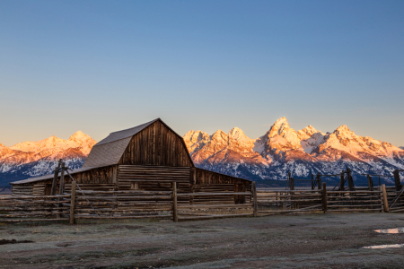 Picture no: 11839421 Grand Teton Sunrise Created by: TomKli