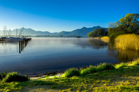 Picture no: 11856227 Der Chiemsee im Morgenlicht II Created by: Joachim Hertwig