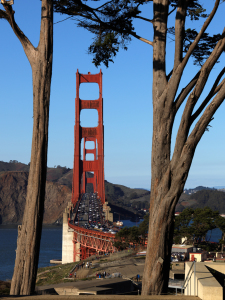 Picture no: 11869014 Golden Gate Bridge San Francisco Drei Säulen Created by: Spot-Shot