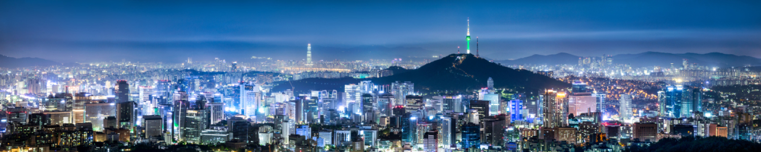Picture no: 11872834 Seoul Panorama bei Nacht mit Blick auf Namsan Created by: eyetronic