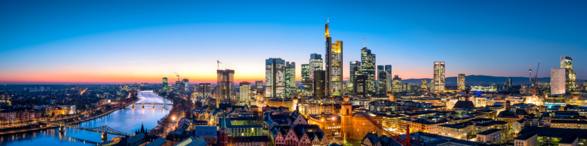 Picture no: 11875371 Skyline von Frankfurt am Abend Created by: eyetronic
