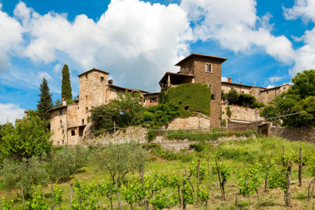 Picture no: 11878896 Montefioralle in Chianti Created by: Reiner Würz