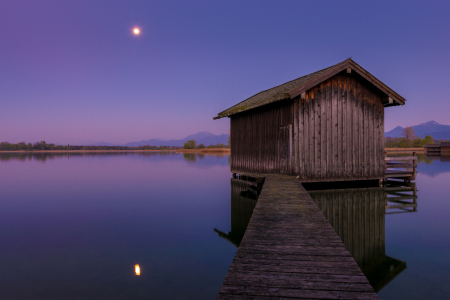 Picture no: 11879554 Vollmond am Chiemsee Created by: Martin Wasilewski