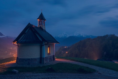 Picture no: 11880359 Lockstein-Kapelle und Watzmann in Berchtesgaden Created by: Martin Wasilewski