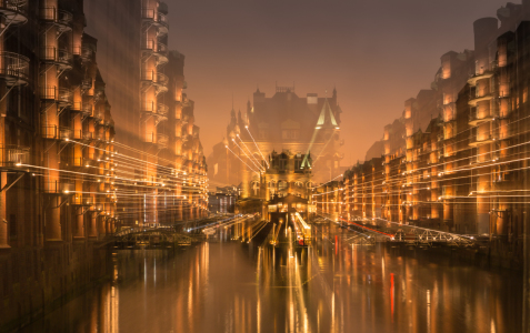 Picture no: 11885576 Lichtspiel-Speicherstadt Created by: Jacques