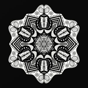 Picture no: 11885780 Mandala   Created by: Gabi Siebenhühner
