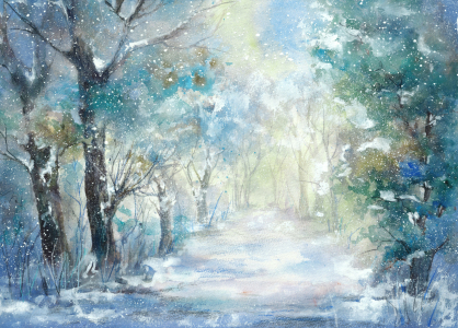 Picture no: 11886234 Allee im Schnee Created by: JitkaKrause