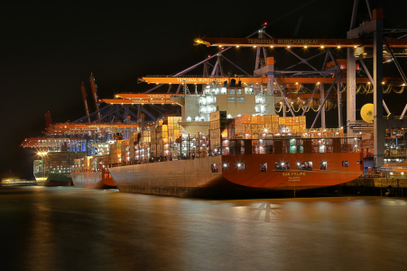 Picture no: 11886274 Hamburg Containerhafen  Created by: Hamburg-Impressionen