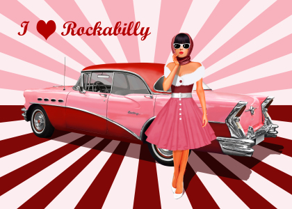 Picture no: 11888267 I love Rockabilly Created by: Mausopardia
