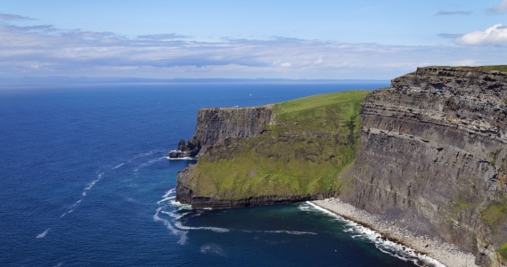 Picture no: 11893213 Cliff's of Moher Ireland green island Created by: KundenNr-264508