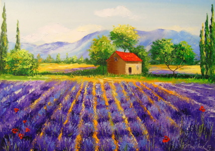 Picture no: 11897214 Lavender field Created by: olha darchuk