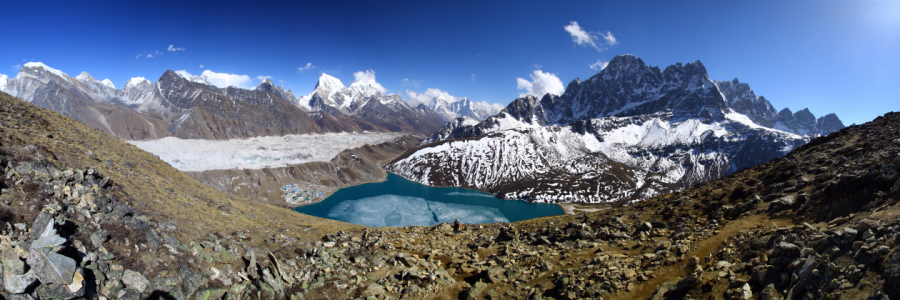 Picture no: 11901985 Gokyo See Panorama I Created by: Gerhard Albicker