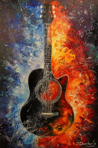 Picture no: 11902955 Guitar Created by: olha darchuk