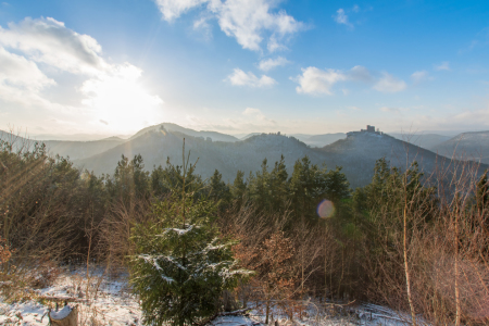 Picture no: 11903162 Trifels im Winter Created by: Christian2Braun