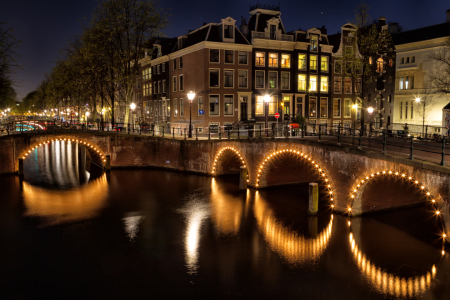 Picture no: 11903729 Amsterdam bei Nacht Created by: DirkR