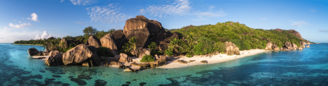 Picture no: 11905614 Seychellen - Anse Source d\'Argent Panorama Created by: Jean Claude Castor