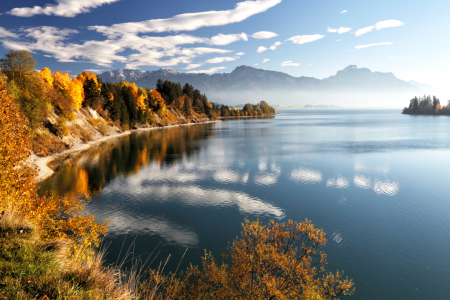 Picture no: 11913110 Forggensee im Herbst Created by: DirkR