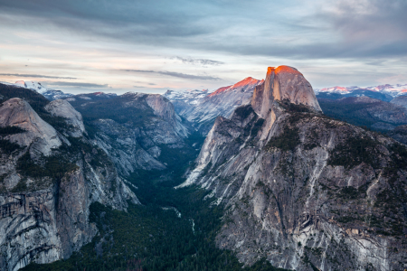 Picture no: 11919703 Half Dome from Glacier Point Created by: TomKli