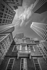 Picture no: 11926317 BOSTON Old State House - Monochrom Created by: Melanie Viola