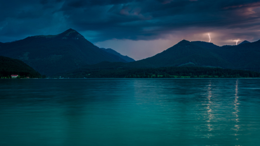 Picture no: 11927465 Gewitter am Walchensee Created by: Martin Wasilewski