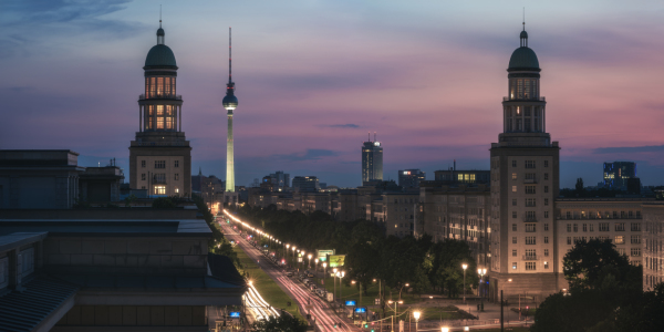 Picture no: 11931885 Berlin - Karl Marx Allee Sunset Created by: Jean Claude Castor