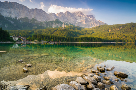 Picture no: 11932879 Morgen am Eibsee Created by: Martin Wasilewski