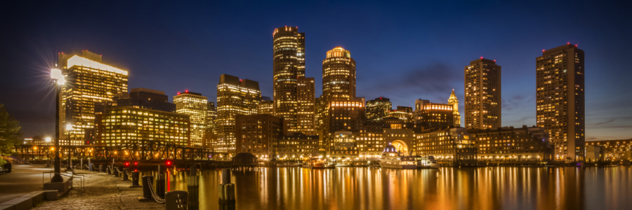 Picture no: 11932916 BOSTON Fan Pier Park und Skyline Boston - Panorama Created by: Melanie Viola