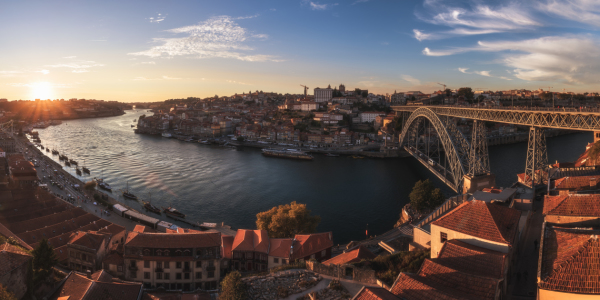 Picture no: 11939480 Portugal - Porto Sunset Panorama Created by: Jean Claude Castor