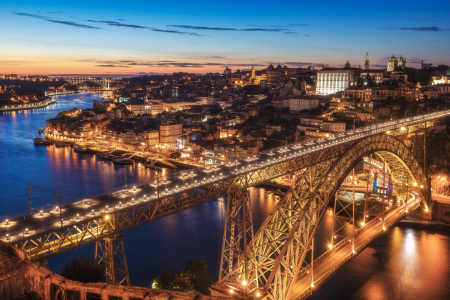 Picture no: 11939964 Portugal - Porto Sunset Blaue Stunde Created by: Dimitrije Bilic