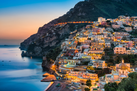 Picture no: 11941599 Sonnenuntergang in Positano Created by: Mapics