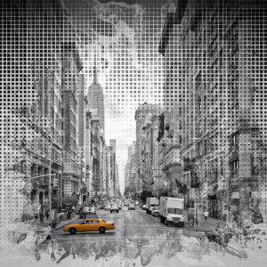 Picture no: 11943425 Graphic Art NEW YORK CITY 5th Avenue Created by: Melanie Viola