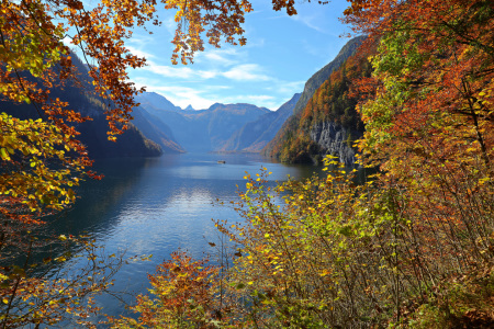 Picture no: 11945321 Der Königssee im Herbst Created by: falconer59