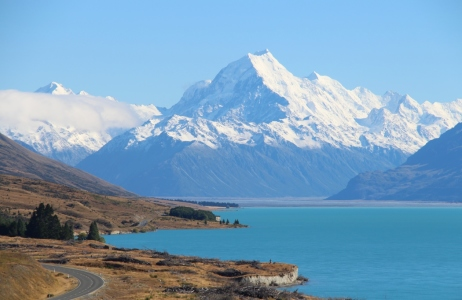 Picture no: 11947975 Mount Cook mit Lake Pukaki Created by: Moarten