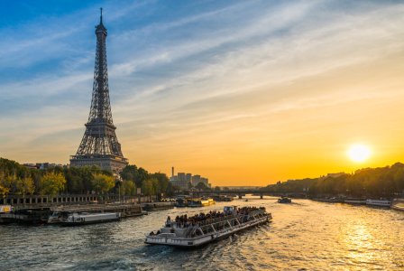 Picture no: 11948984 Sonnenuntergang in Paris Created by: Mapics