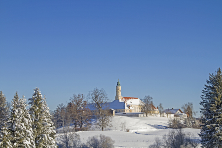 Picture no: 11949315 Kloster Reutberg  im Winter Created by: EderHans