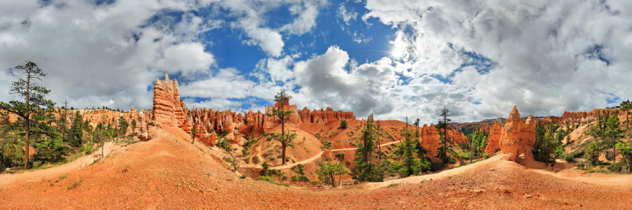 Picture no: 11952435 Bryce Canyon Queens Garden Panorama Created by: Rucker