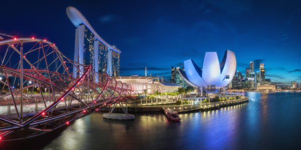 Picture no: 11958558 Singapur - Marina Bay Panorama Created by: Jean Claude Castor